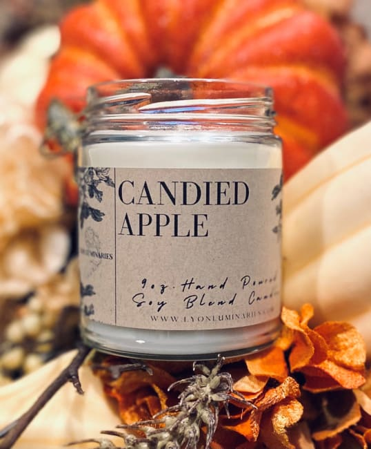 Candied Apple Soy Blend Candle