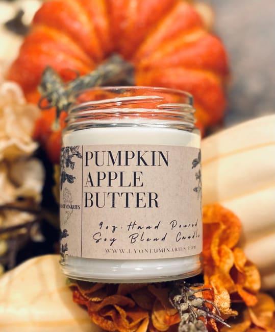 Pumpkin Apple Butter Soy Blend Candle