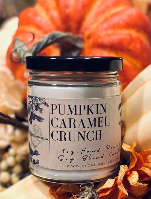 Pumpkin Caramel Crunch Soy Blend Candle