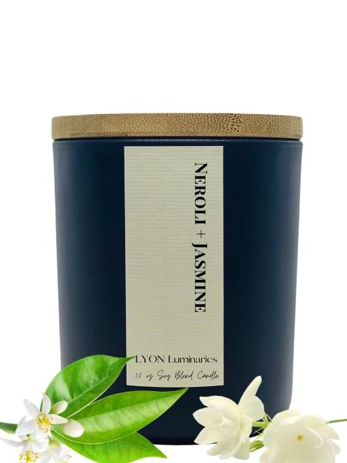 Neroli + Jasmine Soy Blend Luxury Candle