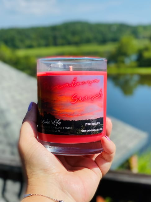 Tuscaloosa Sunset Soy Blend Candle
