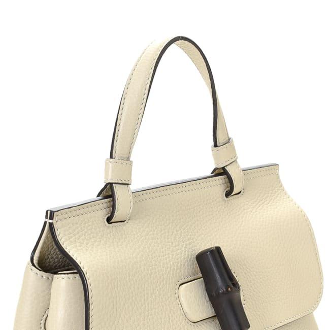 Pre-LovedGucci Small Bamboo Daily Handbag