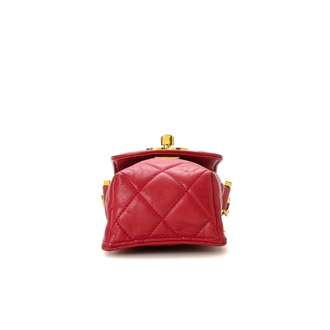 Pre-Loved Chanel CC Logo Phone Holder Crossbody Bag