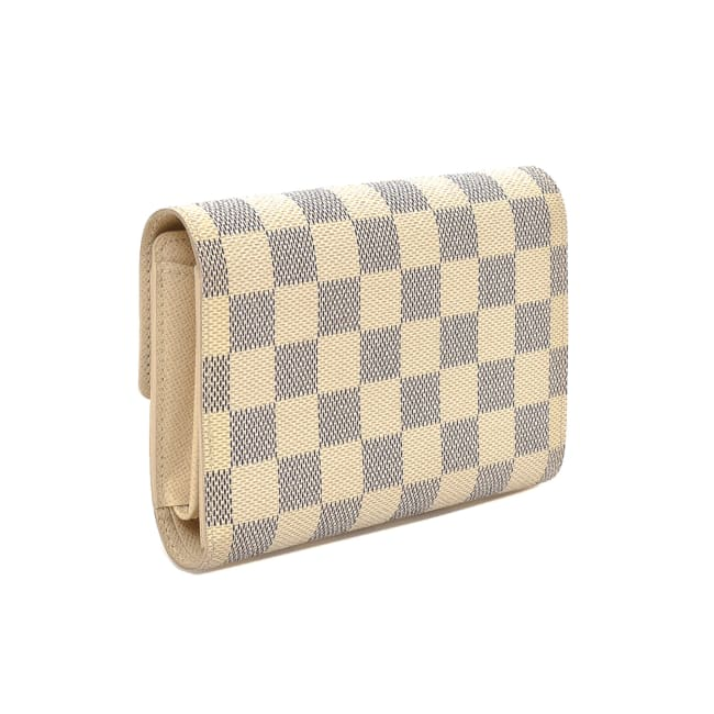 Pre-Loved Louis Vuitton Alexandra Damier Azur Wallet