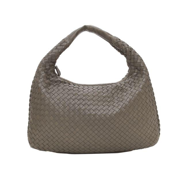 Pre-Loved Bottega Veneta Belly Veneta Intrecciato Shoulder Bag