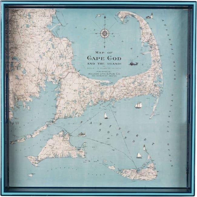 Cape Cod 15 Inch Square Tray