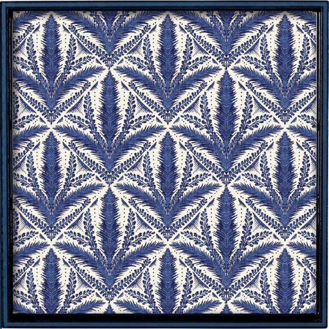 Mediterranean Tile 15 inch Square Tray