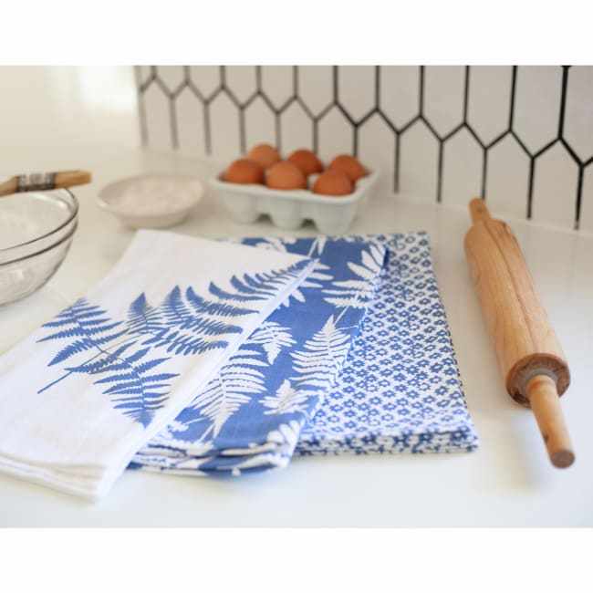 Ferns Kitchen Towel Set of 3