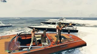 GTA 5 Franklin Michael And Trevor Five Star Escape 20