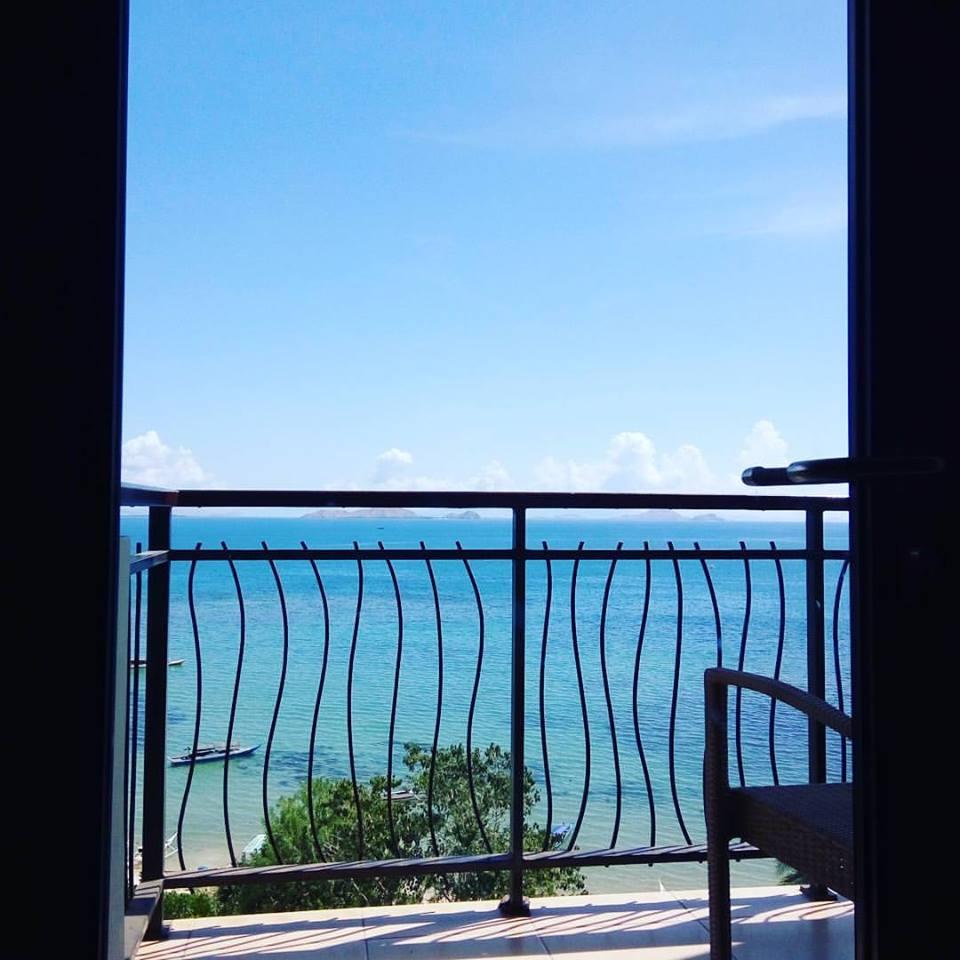 Kamar yang menghadap laut