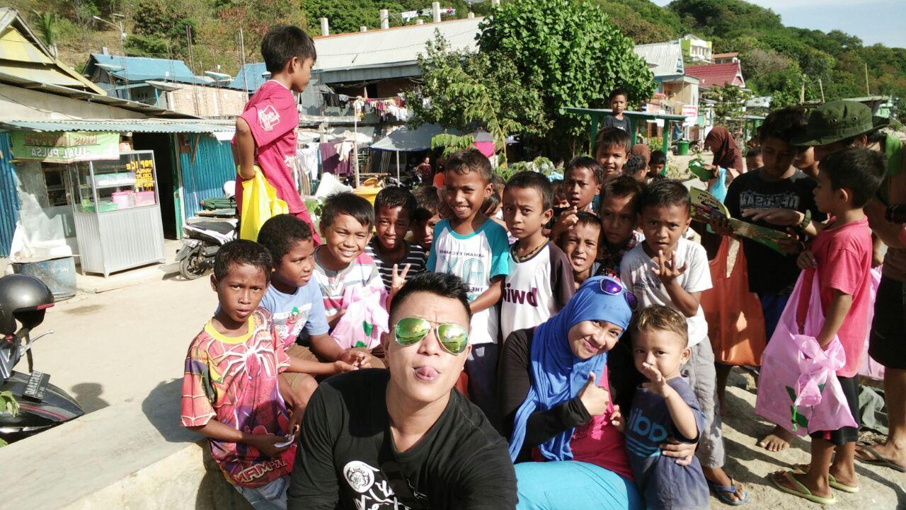 Baksos anak-anak Kampung Ujung