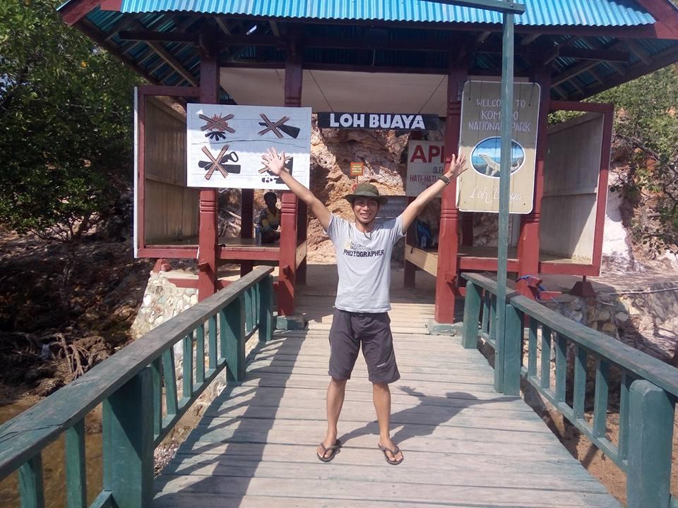 Selamat datang di Loh Buaya - Pulau Rinca