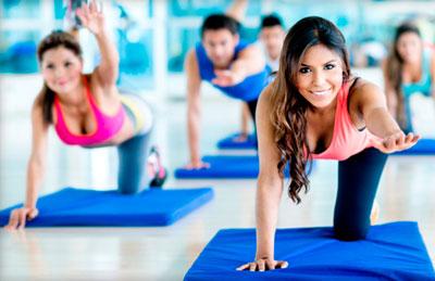 Упражнение из комплекса для начинающих
