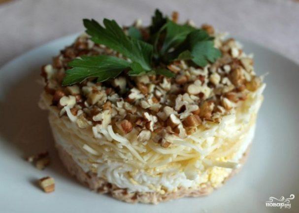 Салат принц рецепт с фото пошагово