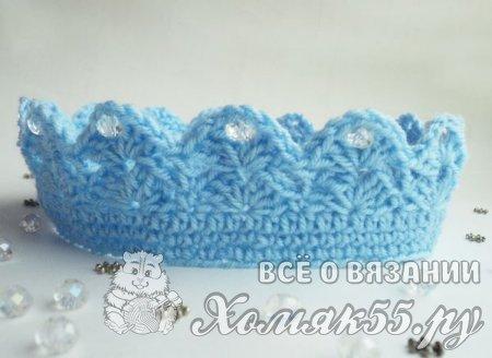 Крючком вязание детской шапки