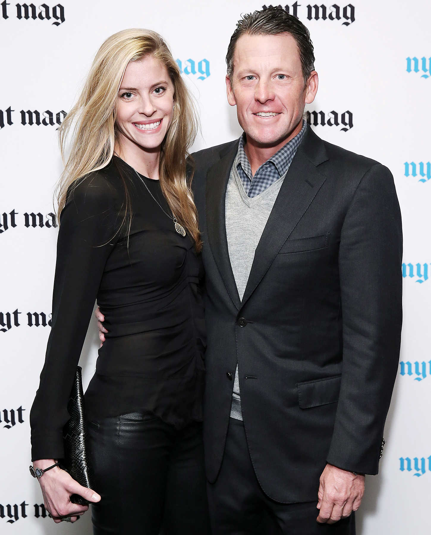 Is lance armstrong married to anna hansen