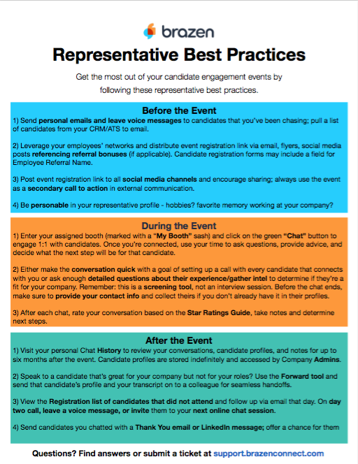 Representative Resources – Brazen Success
