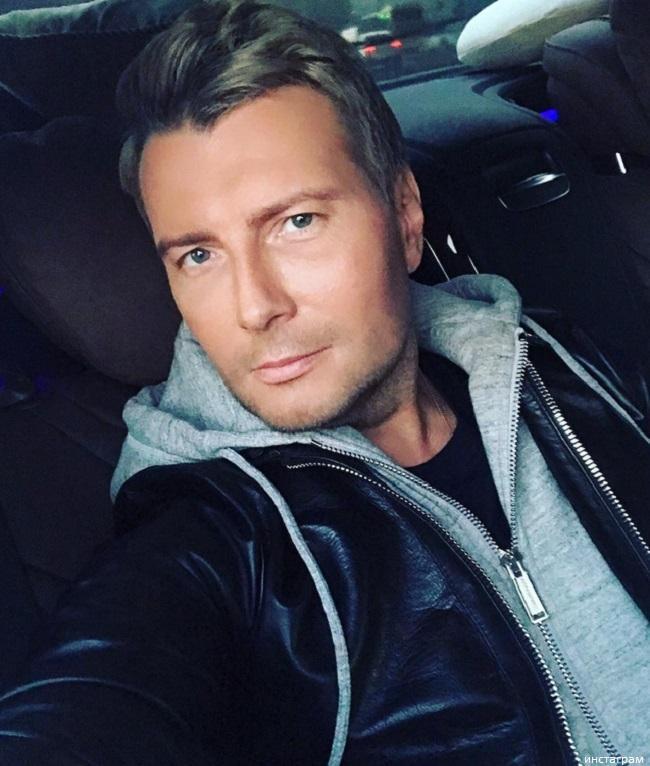 Николай Басков перекрасился