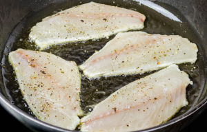 Рыба в духовке в молочном соусе