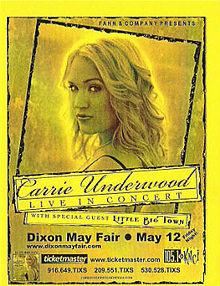 Carrie underwood tour illinois