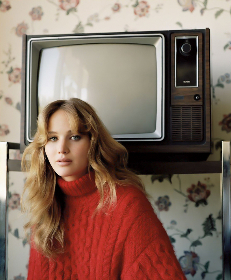 80 фото Дженнифер Лоуренс с телевизором