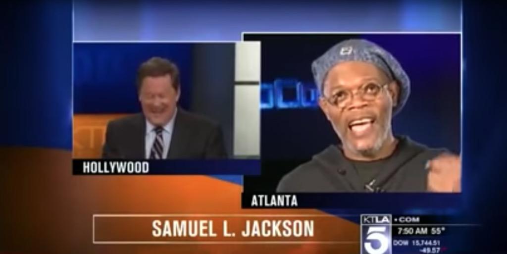 Samuel L Jackson Outrageous Celebrity Interview