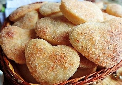 Творожное слоеное печенье рецепт с фото пошагово
