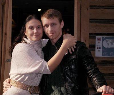 Александр стекольников с женой фото