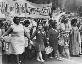 National Welfare Rights Organization at Poor People's Campaign, 1968