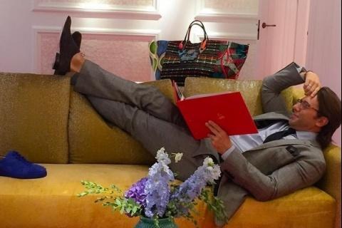 Линдси Лохан прилетела в Москву и дала интервью Андрею Малахову