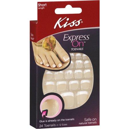 Kiss express on toenails