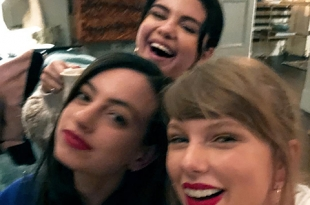 Вместе веселей: Селена Гомес провела вечер в компании Тейлор Свифт и Каззи Дэвид