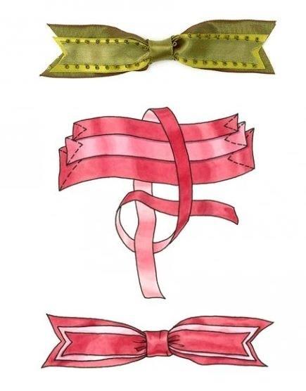 Как сделать бант из бумаги подарочный
