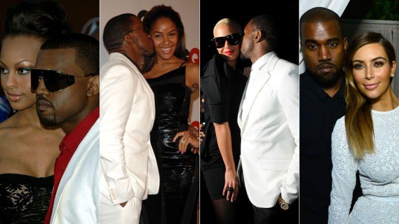 Kanye west latest girlfriend