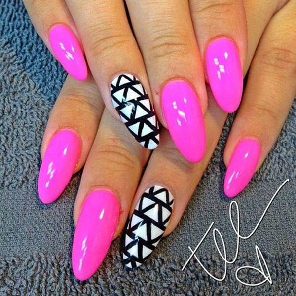 Almond nails short
