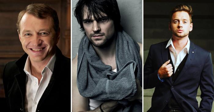 Актеры сериалов мужчины список с фото россия