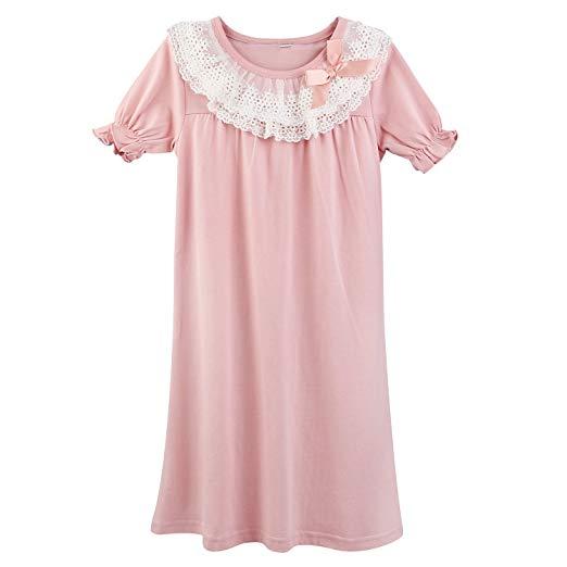 Pink girls nightgown