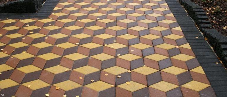 3d тротуарная плитка