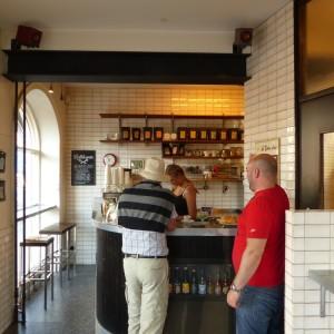 Kaffebaren på Möllan