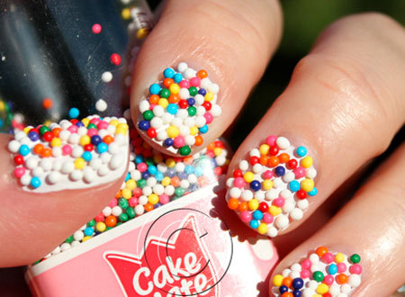 Sweet candy nails