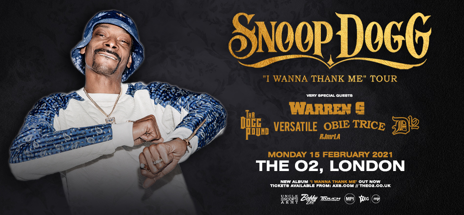 Snoop dogg tour uk