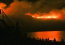 Μαίνεται από το βράδυ η φωτιά στη Ζάκυνθο