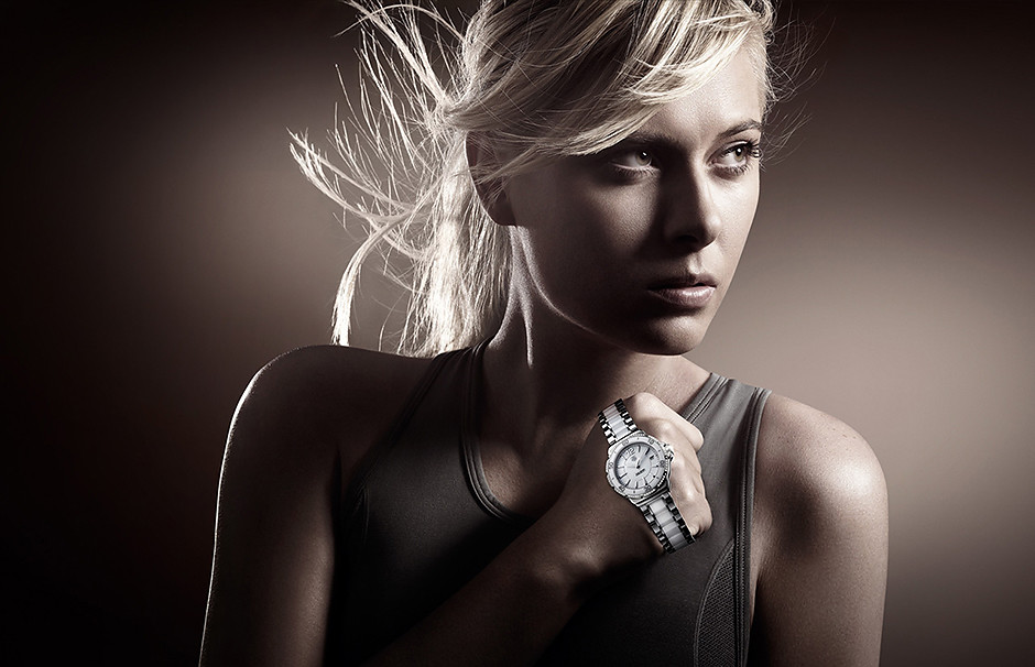 Мария Шарапова в рекламе часов