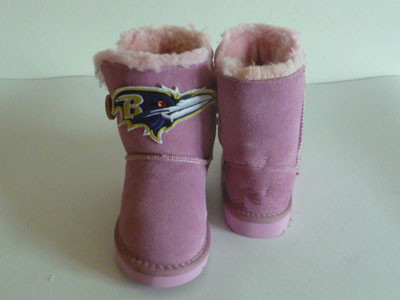 Baltimore ravens pink shoes