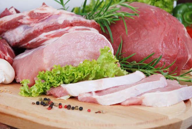 Говядина и свинина