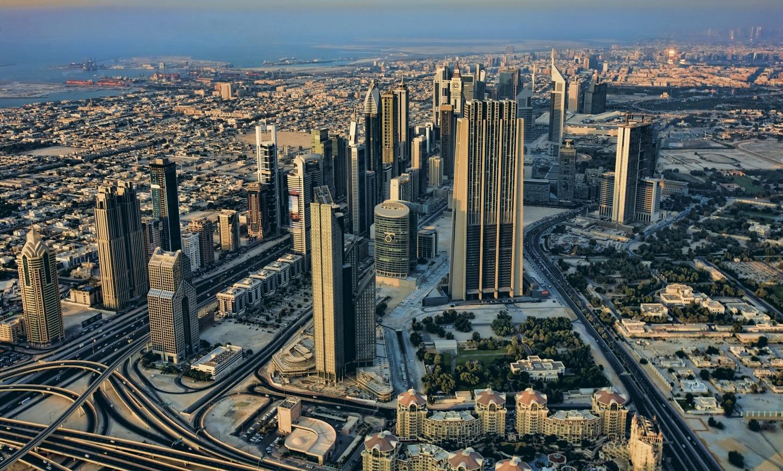 Дубай азия или европа