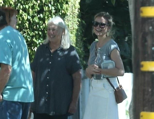 Cameron Diaz's family - mother Billie Diaz