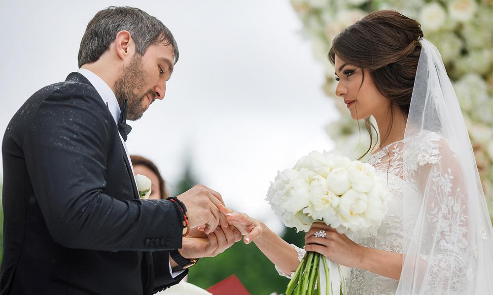 Свадебная церемония Александра и Настасии