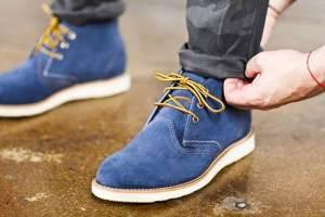 Как покрасить замшевые ботинки