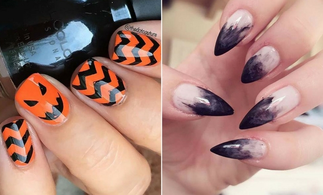 Halloween nails design